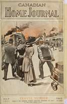 Wall Art Import Canadian Home Journal July 1911 Travel Number Poster Print (18 x 24)