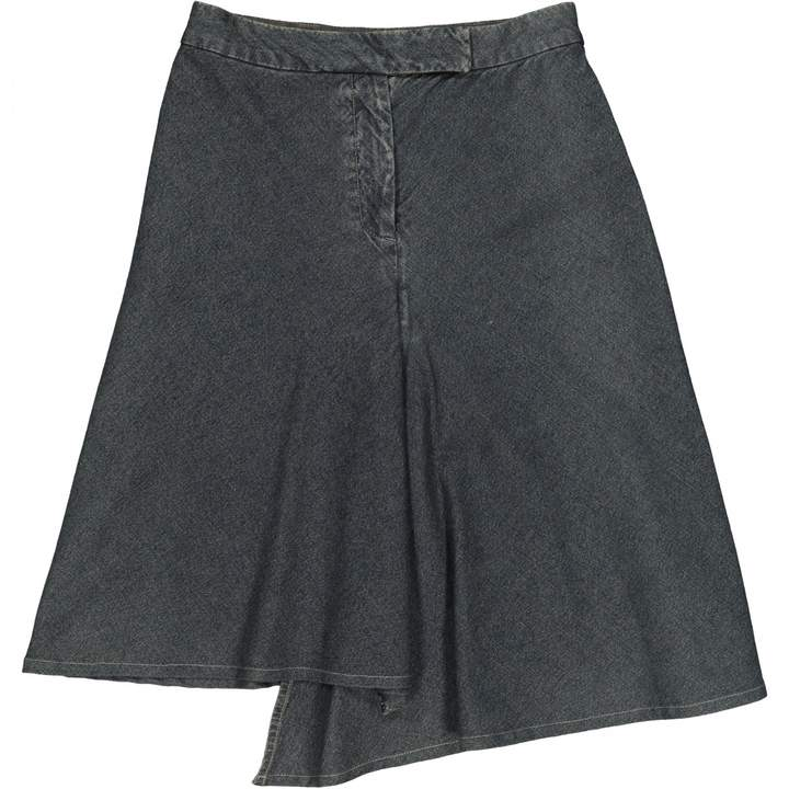 Martine Sitbon Navy Denim - Jeans Skirt for Women