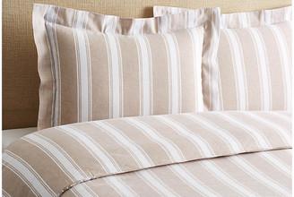 Belle Epoque Stripe Duvet Set - Linen Full/queen