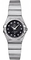 Omega 123.15.24.60.51.001 Constellation Women's Diamonds 24MM Watch