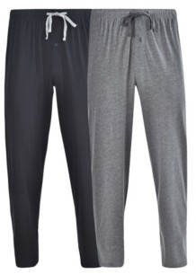 Hanes Platinum Hanes Men's Big and Tall Knit Pant, 2 Pack