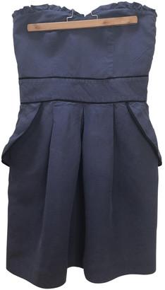 Sandro Blue Linen Dresses