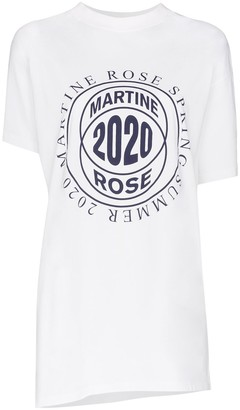 Martine Rose Two way open sides T-shirt