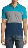 Original Penguin Short Sleeve Heathered Tri Color Polo