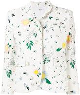 Thom Browne floral print jacket - women - Silk/Cotton - 42