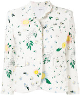 Thom Browne floral print jacket - women - Silk/Cotton - 44