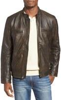 Lucky Brand Bonneville Washed Leather Jacket