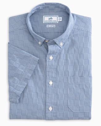Southern Tide Patchwork Short Sleeve Sport Shirt