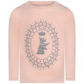 Juicy Couture Juicy CouturePink Long Sleeve Scottie Baby Top