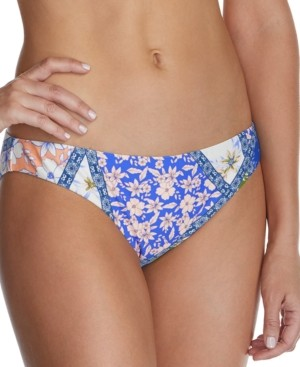 Raisins Juniors' Las Brisas Printed Bikini Bottoms Women's Swimsuit