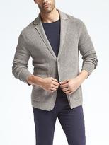 Banana Republic Performance Linen Sweater Blazer