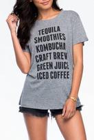 Sub Urban Riot Suburban riot Tequila Loose Tee
