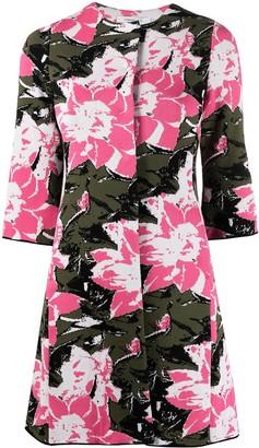 Charlott Floral Print Coat