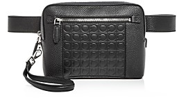 Salvatore Ferragamo Firenze Gamma Leather Belt Bag