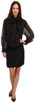 See by Chloe L/S Dress With Collar & Tie