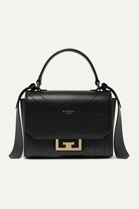 Givenchy Eden Mini Leather Shoulder Bag - Black