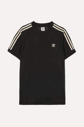 adidas Striped Organza T-shirt - Black