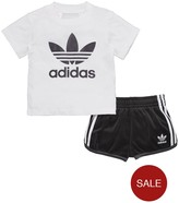 adidas Baby Boy Trefoil Tee And Short Set