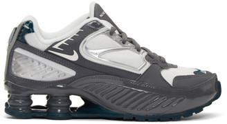 Nike Grey Shox Enigma Sneakers