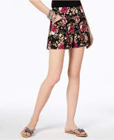 INC International Concepts I.n.c. Curvy Floral-Print Shorts, Created for Macy's