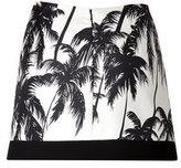Fausto Puglisi Palm Tree Mini-Skirt