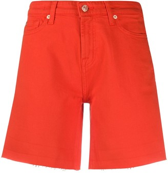 7 For All Mankind Denim Boy Shorts