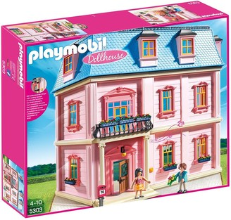 Playmobil 5303 Deluxe Dollhouse with Working Doorbell