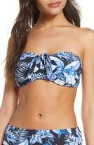 Tommy Bahama Indigo Garden Tie Bandeau Swim Top