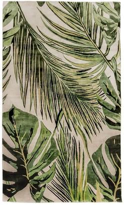 Palms Handmade Silk Rug