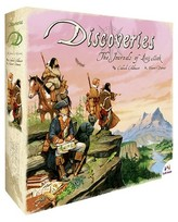 Asmodee Discoveries The Journals of Lewis & Clark Board Game
