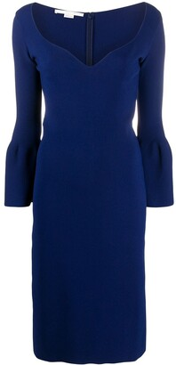 Stella McCartney Sweetheart-Neckline Shift Dress