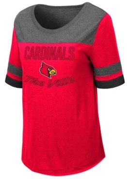 Colosseum Women's Louisville Cardinals Romantic T-Shirt