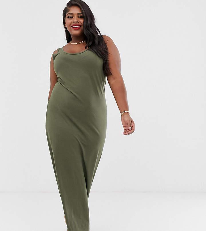 610505d4d8ac3 Plus Size Jersey Maxi Dress - ShopStyle