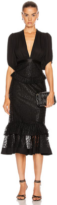 Alexis Dilarra Dress in Black | FWRD