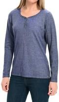 FDJ French Dressing Bling Henley Shirt - Long Sleeve (For Women)