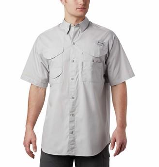 Columbia Mens PFG Bonehead Short Sleeve Fishing Shirt