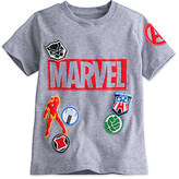 Disney Marvel's The Avengers Icon Patches Tee for Boys