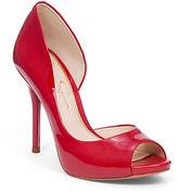 Jessica Simpson Bibi Peep-Toe Pumps