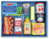 Melissa & Doug Wooden Fridge Food