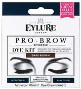 Eylure Pro-Brow 6 Weeks Brow Dye Kit Dark - Pack of 6