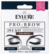 Eylure Pro-Brow 6 Weeks Brow Dye Kit Dark