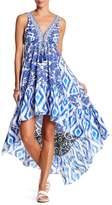 La Moda Embellished Hi-Lo Cover-Up Dress