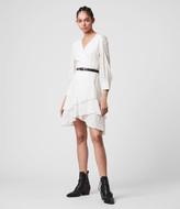 AllSaints Keva Palmer Dress