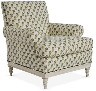 Mr & Mrs Howard Paris Club Chair - Spring Green/Ivory