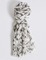 Marks and Spencer Conversational Print Scarf