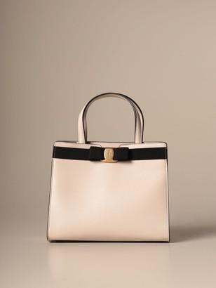 Salvatore Ferragamo Handbag Vara Leather Handbag