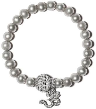 Loree Rodkin Diamond-Embellished Pearl Bracelet