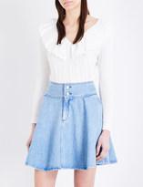 Claudie Pierlot Madeleine cotton-blend jumper
