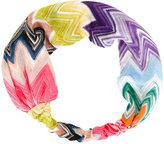 Missoni zig-zag hair band