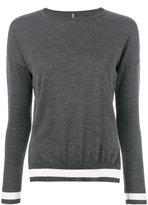 Eleventy contrast hem jumper - women - Silk/Merino - XS